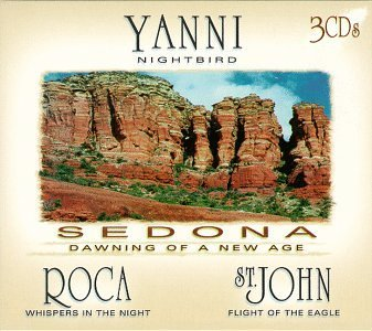 Sedona Dawning Of A New Age Sedona Dawning Of A New Age Yanni Roca St.John 3 CD Set