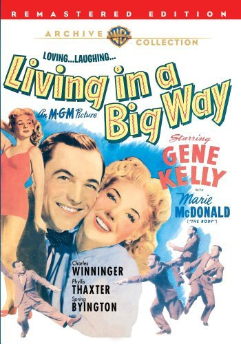 Living In A Big Way Kelly Mcdonald Winninger DVD Mod This Item Is Made On Demand Could Take 2 3 Weeks For Delivery