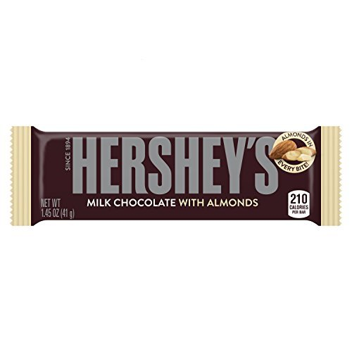 Candy Hershey's W Almonds