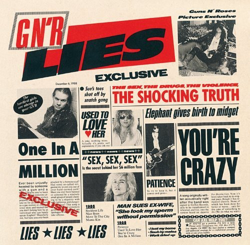 Guns N Roses Gn'r Lies