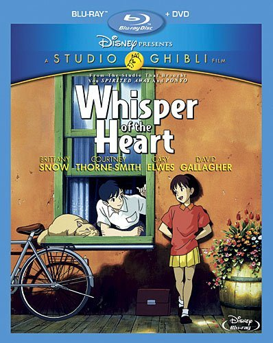 Whisper Of The Heart Studio Ghibli Blu Ray DVD G Ws