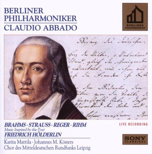 Brahms/Strauss/Reger/Rihm/Music Inspired By Friedrich Ho@Mattila (Sop)/Koster (Bari)@Abbado/Berlin Phil