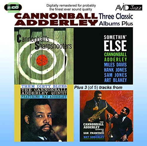 Cannonball Adderley 3 Classic Lps Somethin' Else S 2 CD