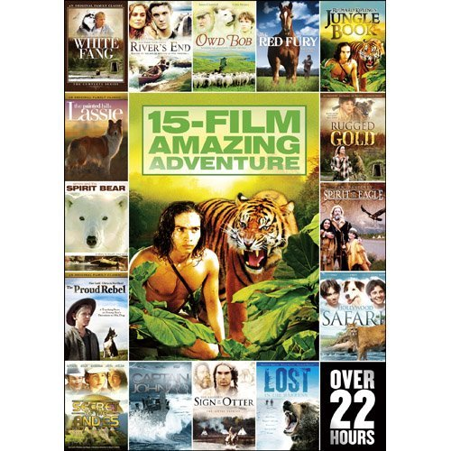 15 Movie Family Adventure Pack Vol. 1 Nr 2 DVD