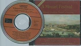 Mozart W.A. Mozart Festival 4 CD Box Set Various