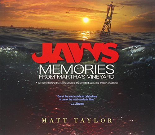 Matt Taylor Jaws Memories From Martha's Vineyard A Definitive Beh 0002 Edition;expanded