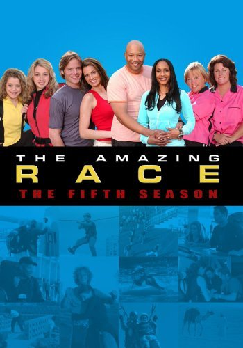Amazing Race Season 5 DVD Mod This Item Is Made On Demand Could Take 2 3 Weeks For Delivery