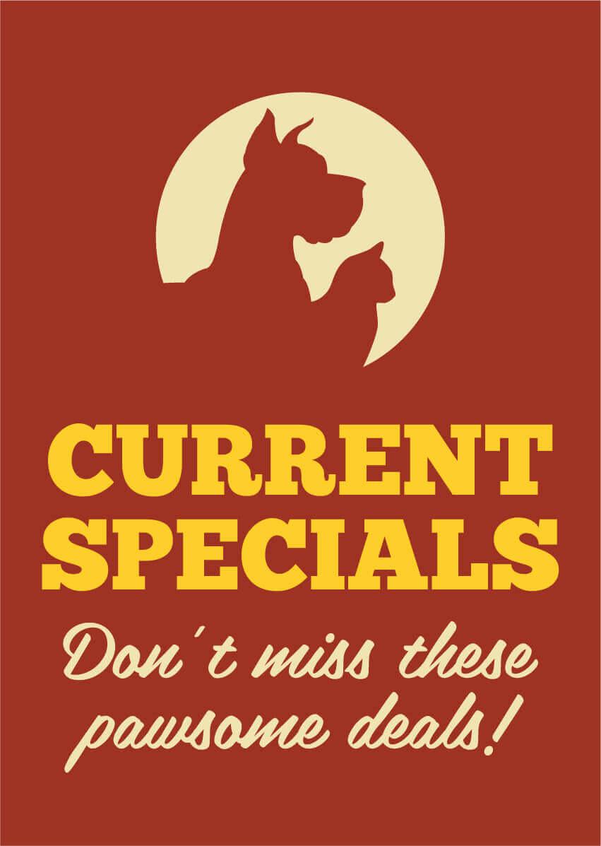 Current Specials Banner