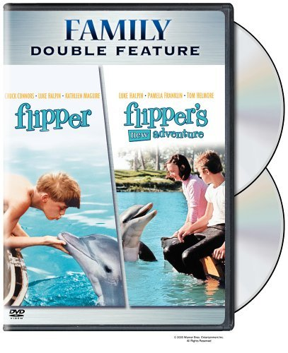 Flipper Flipper's New Adventur Family Double Feature Nr 2 DVD