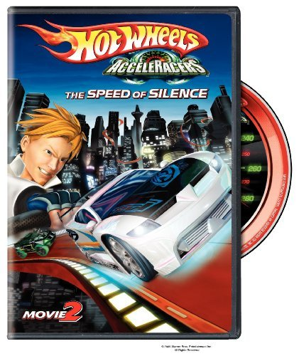 Hot Wheels Acceleracers Vol. 2 Speed Of Silence Mfv 2 Clr Ws Chnr