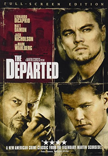 Departed Dicaprio Damon Nicholson Wahlb Clr R
