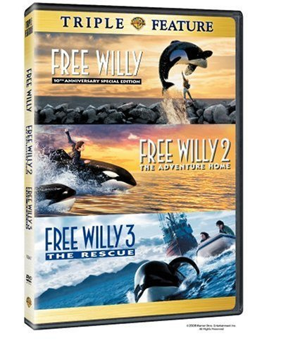 Free Willy Free Willy 2 Free W Warner Triple Feature Clr Nr 3 On 1