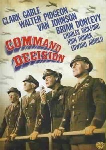 Command Decision Gable Johnson Pidgeon Bw Nr