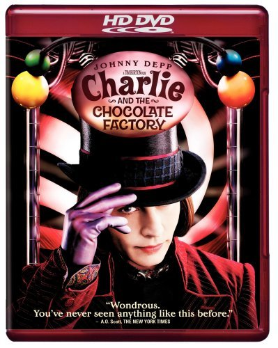 Charlie & The Chocolate Factor Depp Carter Highmore Clr Ws Hd DVD Pg13