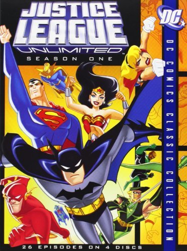 Justice League Unlimited Season 1 DVD Nr