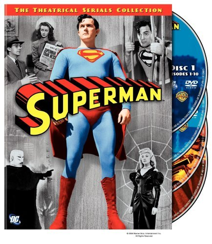 Superman Serials Complete 1948 & 1950 Serials Collection DVD Nr