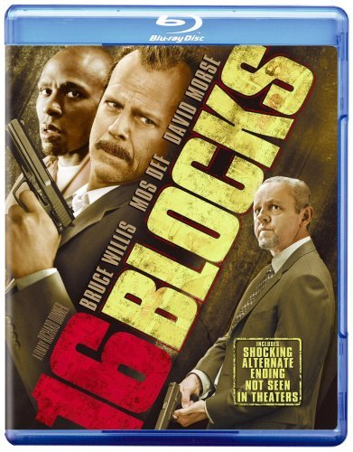 16 Blocks Willis Cozart Morse Blu Ray Ws Pg13