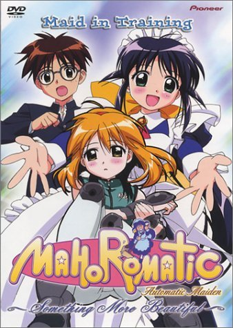Mahoromatic Something More Bea Vol. 1 Maid In Training Clr Aws Jpn Lng Eng Dub Sub Nr