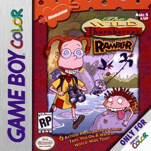 Gameboy Color Wild Thornberry's Rambler E