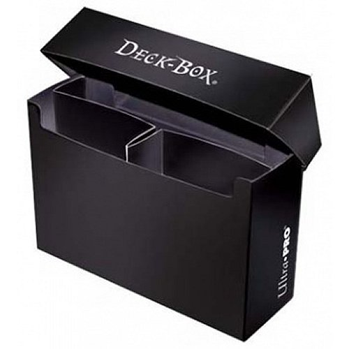 Deck Box Double Back Black