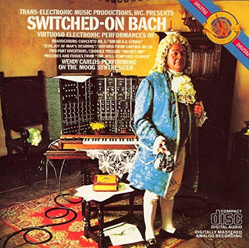 Wendy Carlos Switched On Bach Carlos (synth)