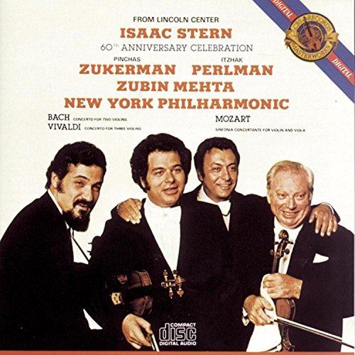 Isaac Stern 60th Anniversary Celebration Stern Zukerman Perlman Mehta New York Po