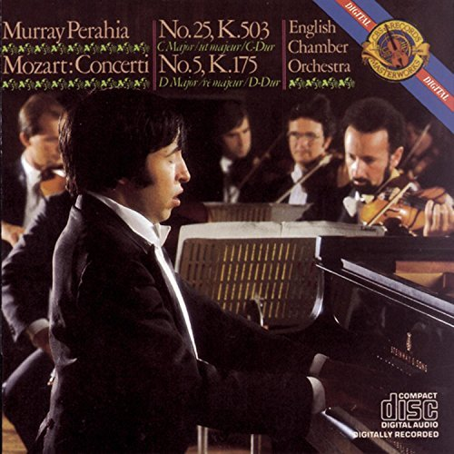 W.A. Mozart Piano Concerto Nos 5 & 25 Perahia*murray (pno) English Co