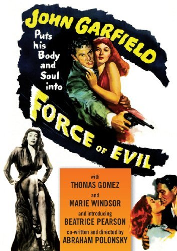 Force Of Evil (1948) Garfield Gomez Windsor Ws Bw Nr