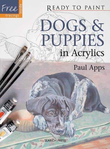 Paul Apps Dogs & Puppies In Acrylics