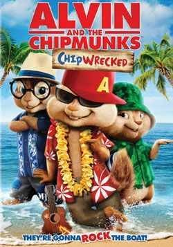 Alvin & The Chipmunks Chipwrecked Alvin & The Chipmunks Chipwrecked Blu Ray DVD Dc