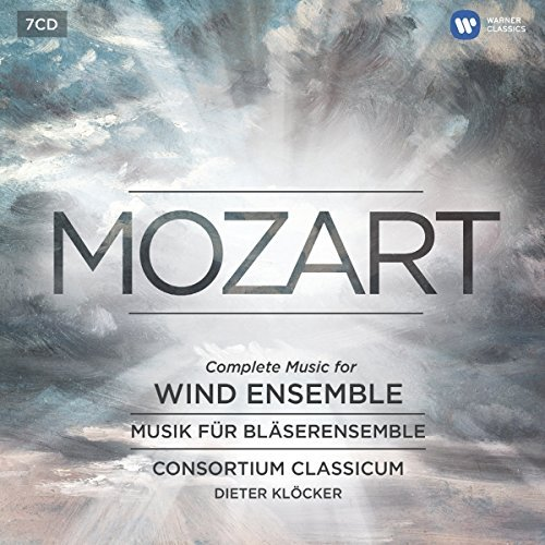 Wolfgang Amadeus Mozart Music For Wind Instrum Consortium Classicum 7 CD
