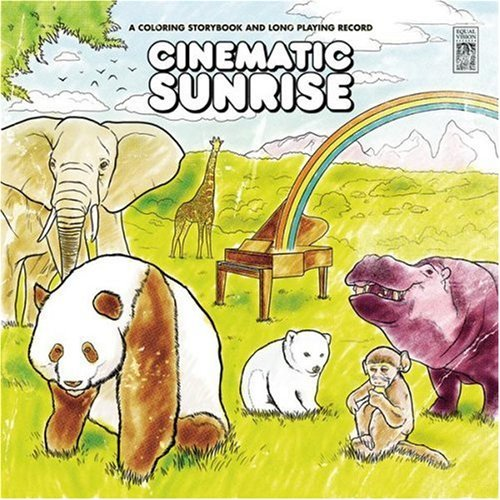 Cinematic Sunrise Coloring Storybook & Long Playing Record