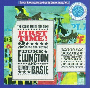 Ellington Basie First Time! Count Meets Duke