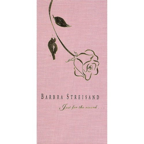 Streisand Barbra Just For The Record... Incl. Booklet 4 CD Set