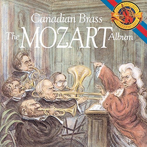 Canadian Brass Mozart Album Canadian Brass