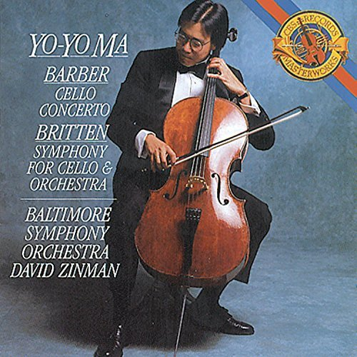 Barber Britten Symphony For Cello Ma*yo Yo (vc) Zinman Baltimore So