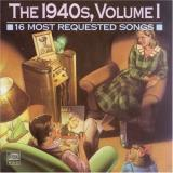 16 Most Requested Songs Vol. 1 1940's 16 Most Requeste Shore Kyser Cugat Brown James 16 Most Requested Songs