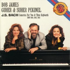 J.S. Bach 3 Concertos For 2 & 3 Keyboards & Synthorch (bwv 1
