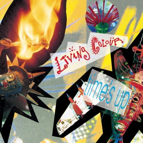 Living Colour Time's Up CD R