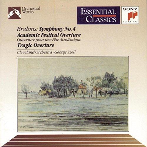 Johannes Brahms/Symphony No 4 Academic Fest@Szell/Cleveland Orch