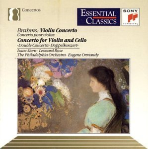 J. Brahms Con Vn Con Dbl Stern (vn) Rose (vc) Ormandy Philadelphia Orch