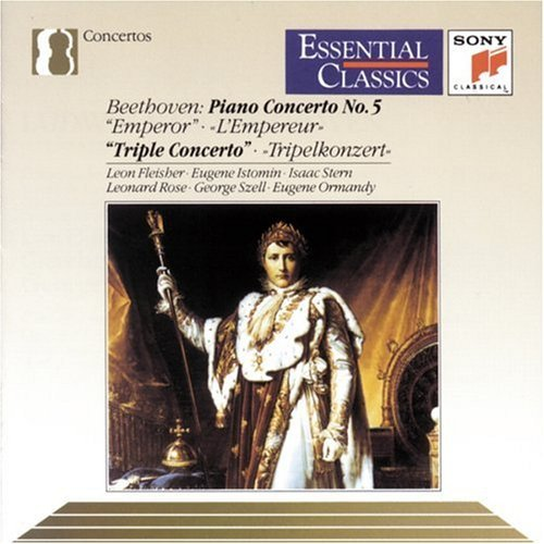 L.V. Beethoven Con Pno 5 Con Triple Fleisher Istomin Stern Rose Ormandy & Szell Variousch