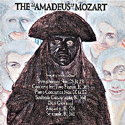 W.A. Mozart Amadeus Mozart Music From The Movie Amadeus Various