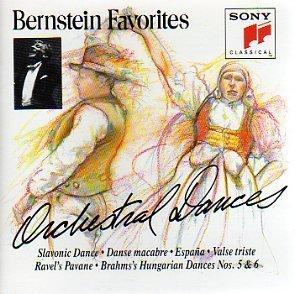 Bernstein Leonard Orchestral Dances Bernstein New York Phil