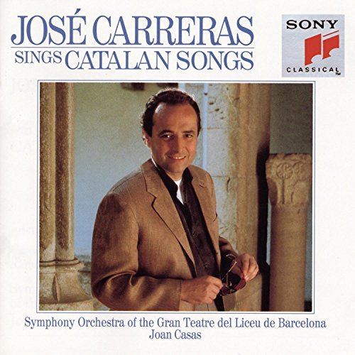 Jose Carreras Sings Catalan Songs Carreras (ten) Alpiste (vn) Casa Gran Teatre Orch