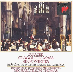 L. Janacek Mass Glagolitic Sinfonietta Benackova Palmer Lakes + Tilson Thomas London So