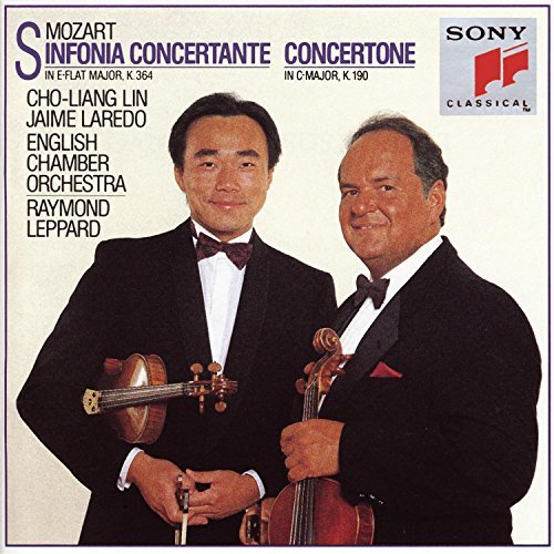 W.A. Mozart Sinfonia Concertante Lin (vn) Laredo (vn) Leppard English Co