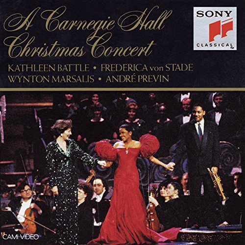 Carnegie Hall Christmas Concer Carnegie Hall Christmas Concer Battle Von Stade Marsalis & Previn Orch Of St. Luke's