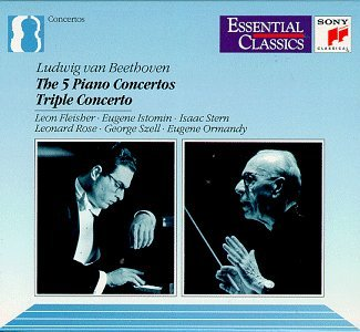 L.V. Beethoven Con Pno 1 5 Comp Con Triple Fleisher Istomin Stern Rose Szell & Ormandy Var