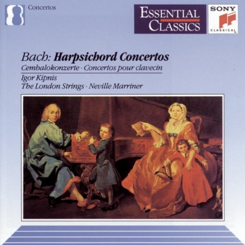 J.S. Bach Con Hpd Kipnis*igor (hpd) Marriner London Strs